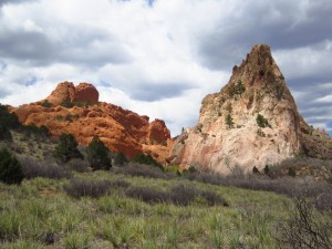 Cathedral Rock and Sleeping Giant