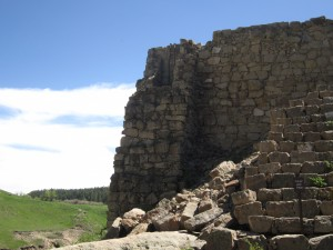 Ladder Castlewood Dam