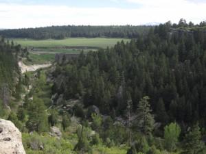 Rim Ridge Castlewood Dam