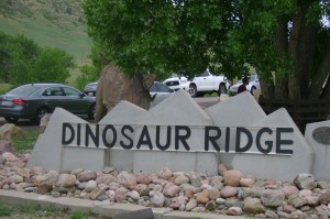 Dinosaur ridge entrance