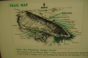 Map dino ridge