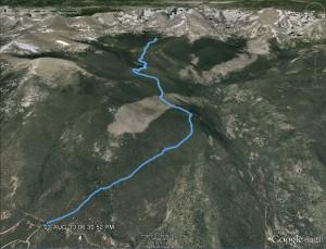 Pear Lake MapGPS